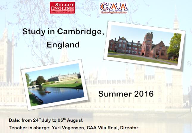 Viagem a Cambridge